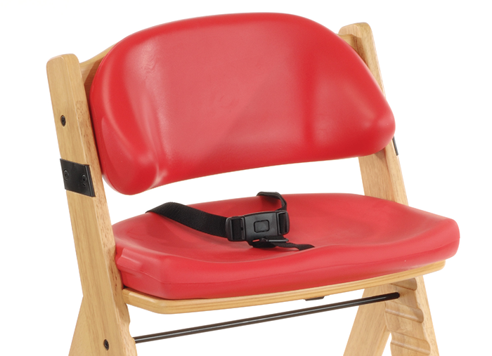 Special Tomato Height Right Chair Seat and Back Cushions